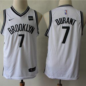 Youth Brooklyn Nets Kevin Durant white Jersey